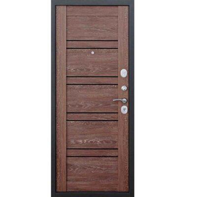 Входная дверь Чикаго 10,5 см Дуб шале/Корица Царга
